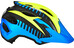 Alpina Carapax Flash Helmet Juniors blue-yellow-black